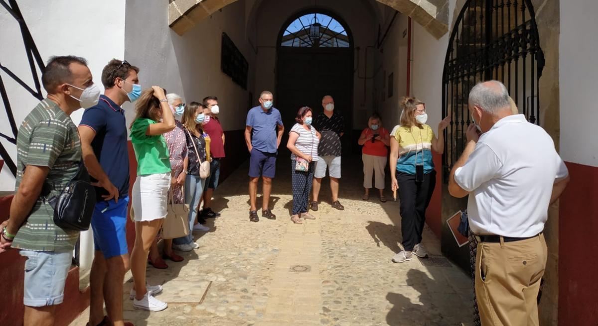 La concejalía de Turismo reanuda las visitasguiadas y gratuitasa la Plaza de Toros los sábados