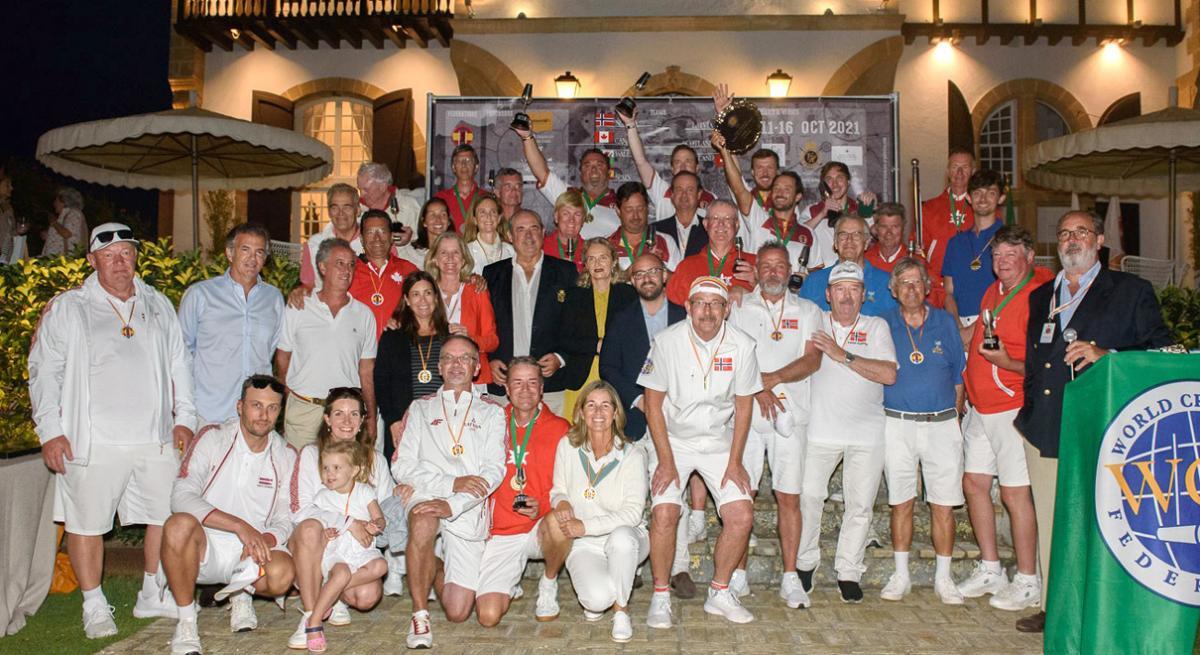 El alcalde de El Puerto felicita al equipo español que se hace con el título del Campeonato del Mundo por Países de Golf Croquet